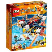 Brinquedo Lego Chima Águia Voadora Atacante De Eris 70142