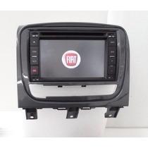 Central Multimídia Fiat Siena Kit Original Completa Gps