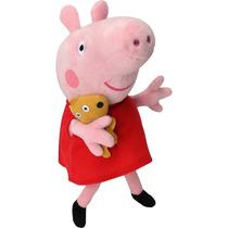 Pelúcia Peppa Pig Musical 23 Cm
