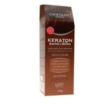 Tonalizante Keraton Chocolate - Banho De Brilho 100 Gramas