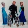 4 Display De Chão Frozen Totem Painel Cenário Mdf Aniversári