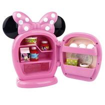 Mini Geladeira De Criança Divertida Minnie Rosa