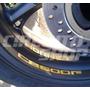 4 Adesivos Roda Refletivo Moto Honda Hornet 600 Frete Grátis