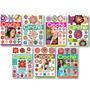 Lote De 7 Revistas - Crochê Flores 210 Modelos - Artesanato