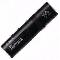 Mp3 Player Sony 4gb Walkman Radio Fm Nwz-b183f Tela Lcd Azul