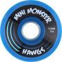 Rodas De Longboard Ladyachtz Mini Monster Hawgs 70 Mm 78a