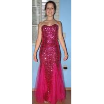 Vestido Longo Festas Rosa 15 Anos, Formaturas, Casamentos.