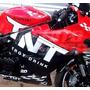 Kit Adesivo Tuning Carenagem Moto Tnt Gp Honda Yamaha Suzuki