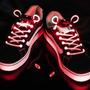 Cadarço Led Style Luminoso Neon Para Tênis- Vermelho (par)