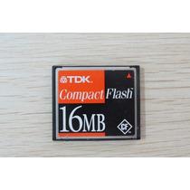Cartão De Memória Compact Flash (cf) Tdk16mb