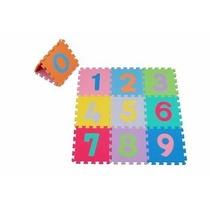 Tapete Educativo Numérico C/ 10 Peças Criança + Frete Gratis
