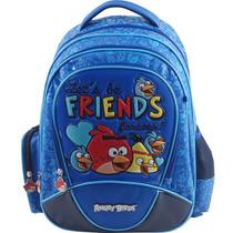 Mochila De Costas Angry Birds Friends Azul - Abm13007u22
