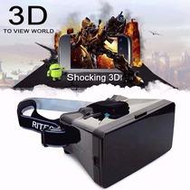 Óculos Realidade Veja Filmes Em 3d Google Cardboard Virtual