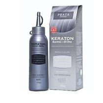 Tonalizante Keraton Prata - Banho De Brilho 100 Gramas