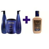 Aneethun Linha A Shampoo+condicionador+máscara+creme Promoçã