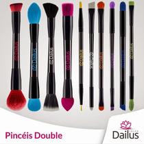 Kit Pincéis Dailus Double 10 Pincéis Profissionaiis-frete G