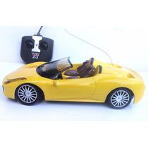Carro Carrinho Controle Remoto Ferrari Conversivel 1:18