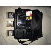 Game Gear Com 3 Jogos E Bolsa Exclusiva