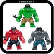 Lego Hulk Big Brinquedo Montar Marvel Vingadores Promoção