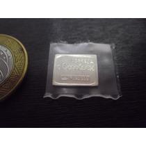 Barrinha De Prata Da Russia Com 1/4 Ou 0,25 Gramas Como Selo