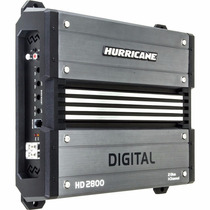 Modulo Hurricane Hd 2800 Digital 2800w 1 Canal 2 Ohms