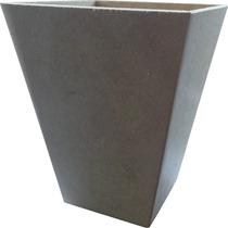 Kit 50 Cachepo-vaso-pote- Mdf Crú 11 X 11 X 13,5.