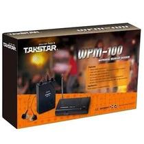 Retorno Monitor Sem Fio In Ear Vocal Guitar Takstar Wpm-10
