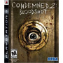 Jogo Semi Novo Condemned 2 Blood Shot Original Da Sega