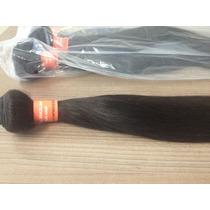 Cabelo Humano Tecido Em Tela Hair Weft 60cm 100g