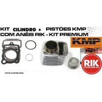 Kit Premium C/cil+pist+jtas Kmp/anel Rik Burgman125 05 A 10
