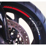 Friso Adesivo Refletivo Rec2 Roda Moto Honda Cb 1000 R Naked