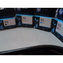 Hp 711 Kit Cartucho Originais 4 Cores
