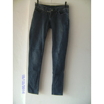 Ca064 - Calça Jeans Com Stretch Manequim 36 Eckzem