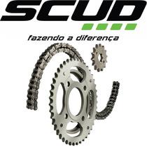 Kit Relação Scud Titan 125/ Fan 125 00 A 08 C/ Retentor Moto