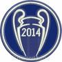 Tpc185 Real Madrid Champions League 2014 Patch Bordado 8 Cm