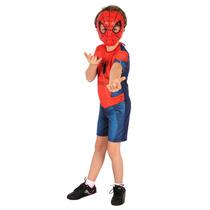 Fantasia Homem Aranha Ultimate Original,spiderman,herois