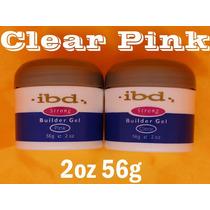 Kit Gel Uv Qualidade Ibd - Clear E Pink - À Pronta Entrega