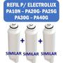 Refil Filtro Purificador Electrolux Pa - Kit C/ 3 Unidades