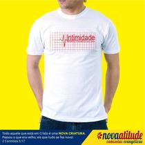 Camiseta Gospel Intimidade Mantenha A Frequencia Com Deus