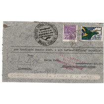 Zeppelin - Porto Alegre P/ Alemanha 1934 - Cz007