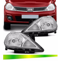Farol Nissan Tida Hatch 2007 2008 2009 2010 2011 2012 2013