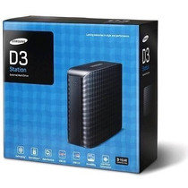 Hd Externo Portátil Samsung 2tb D3 Portable Preto