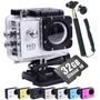 Camera Filmadora Full Hd+ 32gb+ Bastao+ Visor Gopro