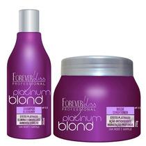 Shampoo E Máscara Cabelos Loiros E Luzes Efeito Platinado