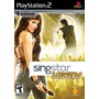 Jogo Novo Lacrado Singstar Legends Playstation 2 Ps2