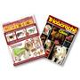 Lote De 2 Revistas Moda Pet Tecido Tricô E Crochê Com Moldes