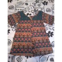 Blusa De Malha Hering Fashion Étnica/retrô, Linda!