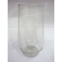 Vaso De Vidro Paulista Transparente 22cm