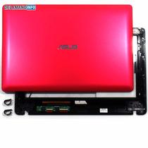 Carcaça A + Touch Netbook Asus X102ba - Vermelho (5148)