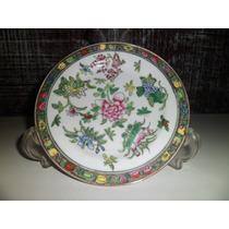 Lindo Prato De Porcelana Chinesa